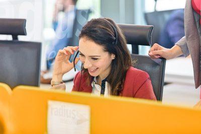 The Radius Telecom helpdesk is staffed by full time dedicated helpdesk engineers